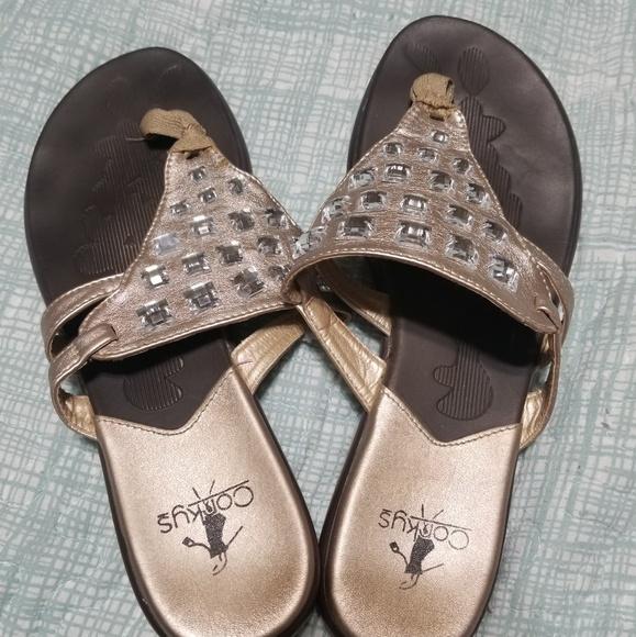 f6ae12989 Corkys Shoes - Corkys flat sandals women size 9